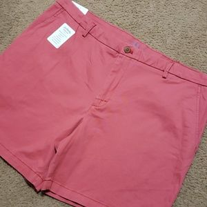 Men's Izod Salwater Red Stretch Shorts 40 NWT